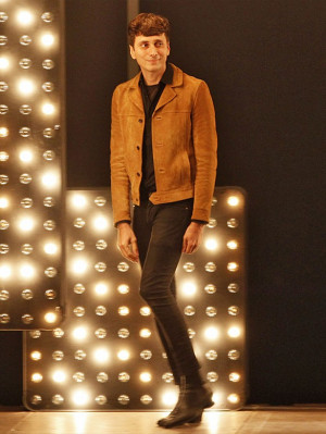 Hedi Slimane Explains His Fascination With the Skinny Silhouette