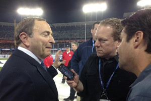 NHL Commissioner Gary Bettman on West Coast Bias