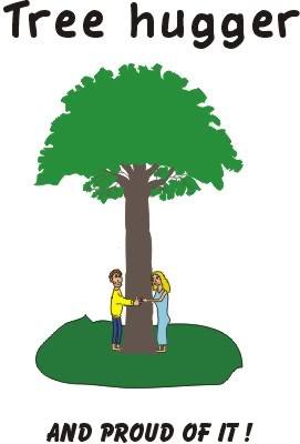 tree hugger Image