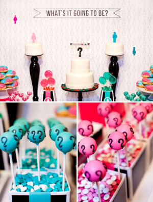 Baby Gender Reveal Party.