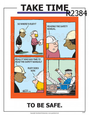 Funny Workplace Safety Quotes