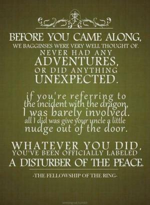 Ha! Love this quote!