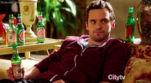 New Girl's Nick Miller and his