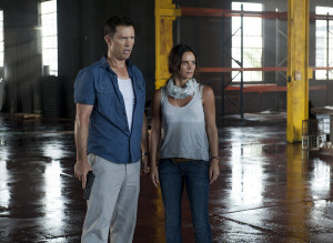 BURN NOTICE — Episode 611 — Pictured: (l-r) Jeffrey Donovan as ...