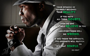 50 Cent Inspirational Quotes