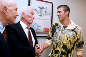 General Thomas Stafford, Captain Eugene Cernan and Olympic superstar ...