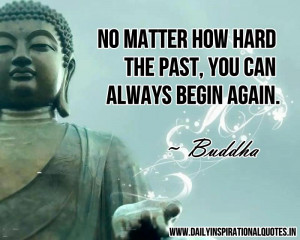 Buddhism - Buddhist - Buddha mediation quotes - No matter how hard the ...
