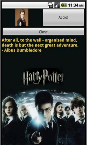 Harry Potter Quotes Sayings Screenshot 2