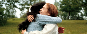 Megan Follows as Anne Shirley and Schuyler Grant as Diana Barry