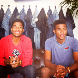Trevor Jackson with brother Ian Jackson at the Hollister House on May ...