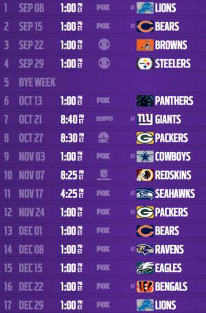 Minnesota Vikings Screensaver