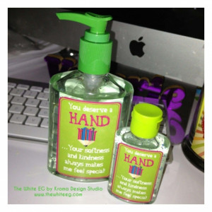 Instant Download} DIY Teacher Appreciation Gift - Hand Sanitizer or ...