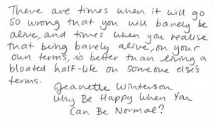 jeanette winterson change quote