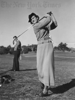 Babe Didrikson - 1937