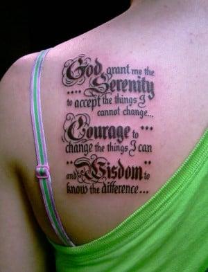 Prayer Tattoo