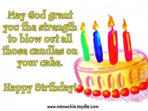 Christian Birthday Wishes 12