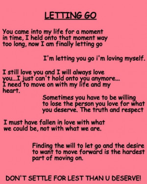 Go...Moving On #love #moving on #letting go #let go #sad #Quote ...