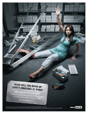 WorkSafeBC Workplace Safety Poster