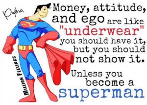 ... : Attitude Picture Quotes , Ego Picture Quotes , Money Picture Quotes
