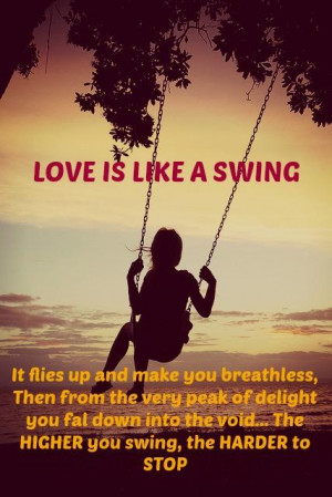Swing and Love Quotes
