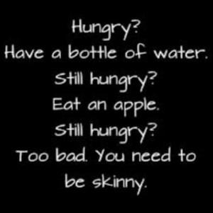 want to be skinny . | via Tumblr