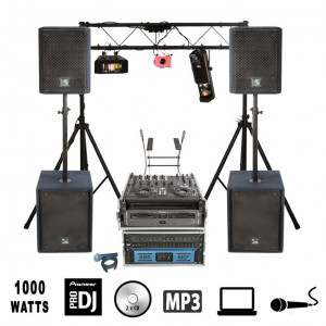 DJ Packages with Speakers