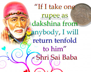 Images Vachan Sai Baba Thoughts In English Shirdi Sai Baba Quotes