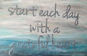 Inspirational Quote Painting Aqua Gray Seascape by TracyHallArt, $90 ...