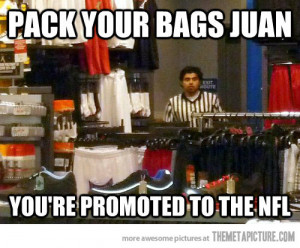 funny NFL referee Mexican Juan