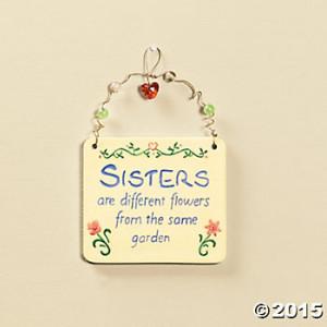 """Sisters"""" Wall Tile"""