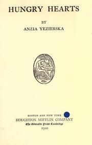 The Lost Beautifulness Anzia Yezierska