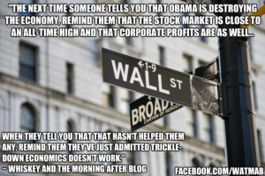 Trickle down economics doesn't work