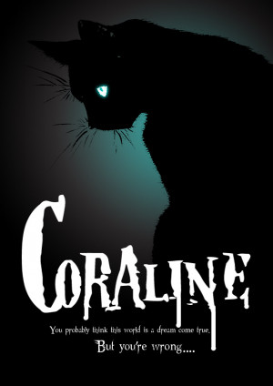Coraline movie poster by Figure-of-L
