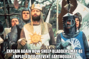 One of my favorite Monty Python quotes, makes me laugh every time.