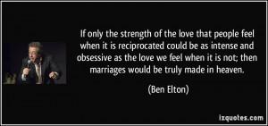 More Ben Elton Quotes