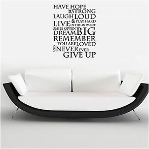 HAVE-HOPE-INSPIRATIONAL-QUOTE-WALL-ART-SELF-ADHESIVE-VINYL-GRAPHIC ...