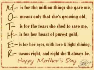 Happy Mother's Day, bundaaa.. Loveyou ♥