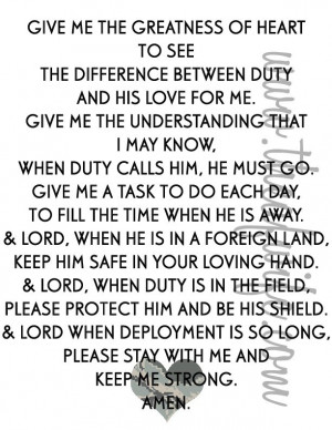 Military Love Quotes Quote, military service