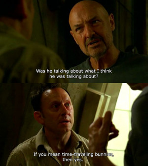 Favorite Ben Sarcastic Moment:John Locke: Was he talking about what I ...