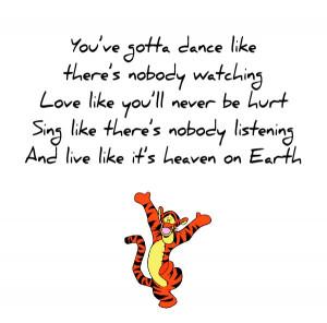 Disney Quotes Tigger Winniethepooh