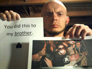 MARINES TO OAKLAND POLICE: 'You Did This To My Brother'