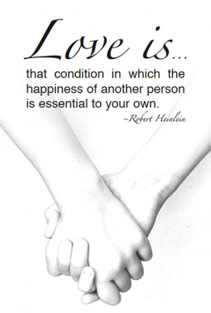 Free Printable Love Quote – Robert Heinlein