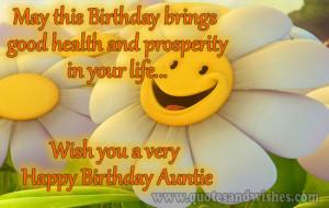 happy birtday auntie Happy birthday wishes for aunt . Birthday ...