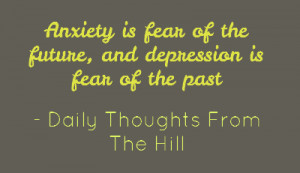Quotes About Depression And Anxiety Quotes about depression and