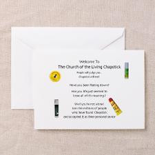 Cute Chap stick Greeting Cards (Pk of 10)