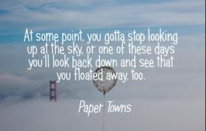 John Green~ Paper Towns