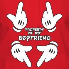 Property of my boyfriend Hoodies