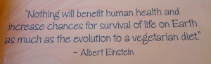 Nothing will benefit human health and increase chances for survival ...