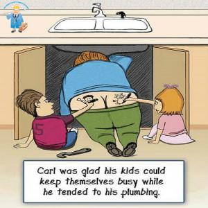 "Young plumbers"""