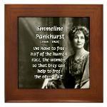 Emmeline Pankhurst: Female Suffragist. Feminist Quote on Free Women ...